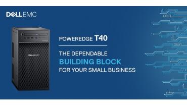 Dell EMC PowerEdge T40 si Intel Xeon E-2200
