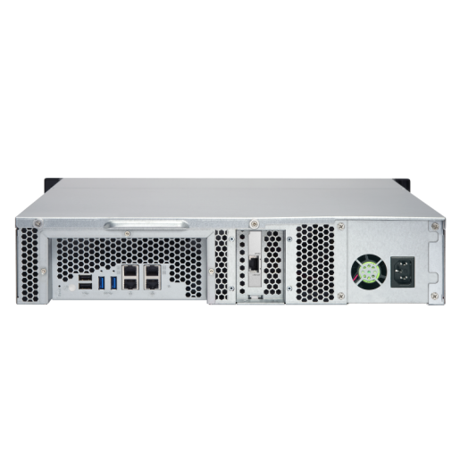 QNAP NAS 2U, TS-853BU-4G, 8-Bay NAS, Intel Celeron J3455 1.5GHz, 4GB DDR3L SODIMM RAM, 4xGbE, Single Power Supply