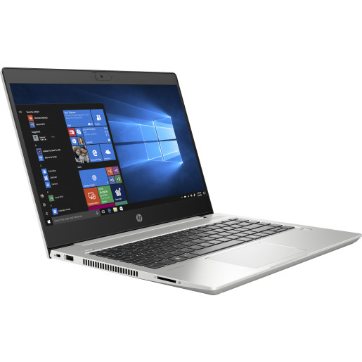 HP ProBook 440 G7 Argint Notebook 35,6 cm (14) 1920 x 1080 Pixel 10th gen Intel Core i7 8 Giga Bites DDR4-SDRAM 256 Giga Bites SSD Wi-Fi 6 (802.11ax) Windows 10 Pro