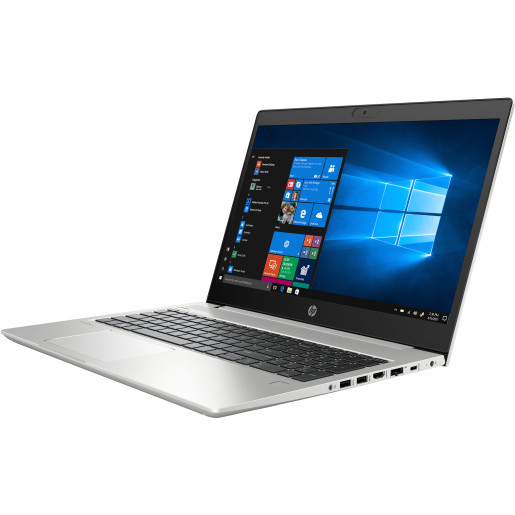 HP ProBook 450 G7 Argint Notebook 39,6 cm (15.6) 1920 x 1080 Pixel 10th gen Intel Core i7 16 Giga Bites DDR4-SDRAM 1512 Giga Bites HDD+SSD NVIDIA GeForce MX250 Wi-Fi 6 (802.11ax) Windows 10 Pro