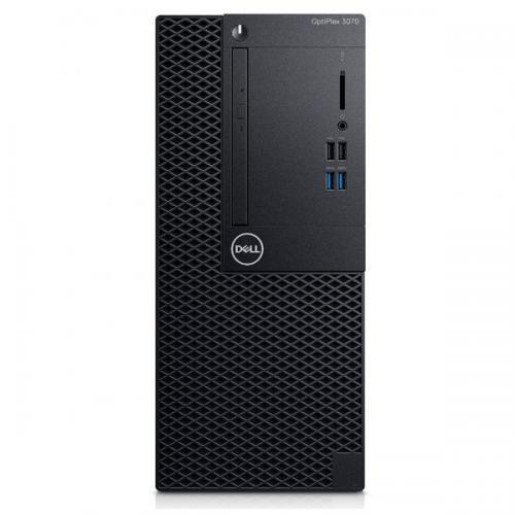 Desktop Dell OptiPlex 3070 MT, Intel Core i3-9100, RAM 4GB, HDD 1TB, Intel UHD Graphics 630, Windows 10 Pro