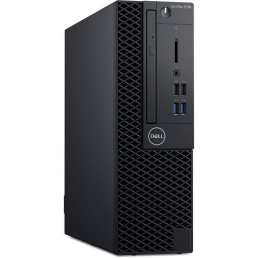 Desktop Dell Optiplex 3070 SFF, Intel Core i3-9100, RAM 8GB, SSD 256GB, Intel UHD Graphics 630, Windows 10 Pro