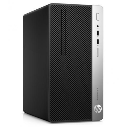 Desktop HP 400 G6 MT, Intel Core i3-9100, RAM 4GB, SSD 256GB, Intel UHD Graphics 630, Windows 10 Pro