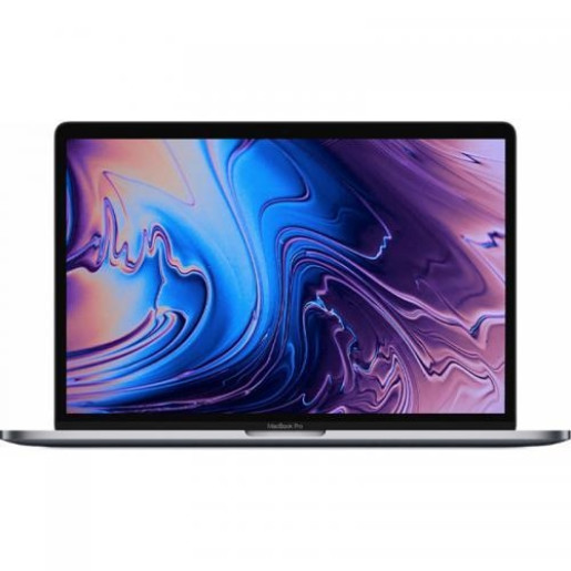 Laptop Apple The New MacBook Pro 13 Retina with Touch Bar, Intel Core i5-8279U, 13.3inch, RAM 8GB, SSD 256GB, Iris Plus 655, Mac OS Mojave, Silver