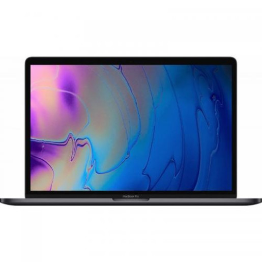 Laptop Apple The New MacBook Pro 15 Retina with Touch Bar, Intel Core i7-9750H, 15.4inch, RAM 16GB, SSD 256GB, AMD Radeon Pro 555X 4GB, Mac OS Mojave, Space Grey