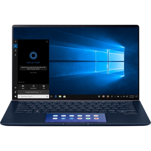 "Laptop ASUS ZenBook 14 UX434FAC-A5050R, 14""FHD, Intel Core i7- 10510U, RAM 16GB, SSD 1TB, Windows 10 Professional"