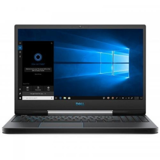 Laptop Dell Inspiron Gaming G5 5590, Intel Core i7-9750H, 15.6inch, RAM 8GB, HDD 1TB + SSD 256GB, nVidia GeForce GTX 1650 4GB, Windows 10, Black