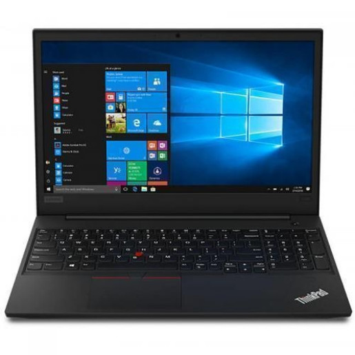 Laptop Lenovo ThinkPad E590, Intel Core i5-8265U, 15.6inch, RAM 8GB, HDD 1TB + SSD 128GB, AMD Radeon RX 550X 2GB, Free DOS, Black