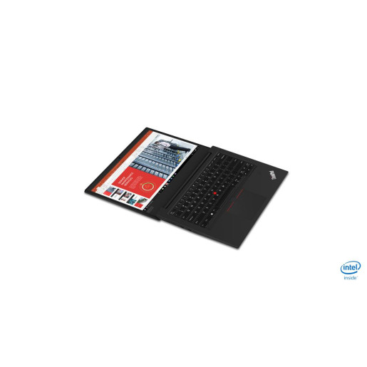 Laptop Lenovo ThinkPad E490, Intel Core i5-8265U, 14inch, RAM 8GB, SSD 512GB, Intel UHD Graphics 620, Windows 10 Pro, Black