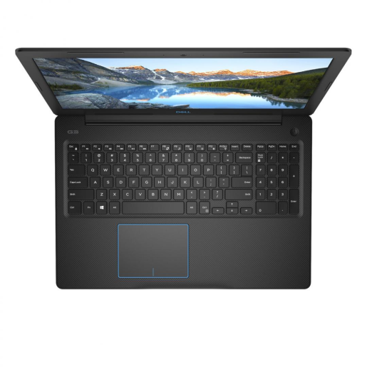 Laptop Dell Inspiron Gaming G3 3579, Intel Core i7-8750H, 15.6inch, RAM 8GB, SSD 256GB, nVidia GeForce GTX 1050 Ti 4GB, Windows 10, Black
