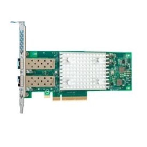 HBA QLogic FastLinQ 41262 Dual Port 25Gb SFP28 Adapter Full Height Customer Install, 14G