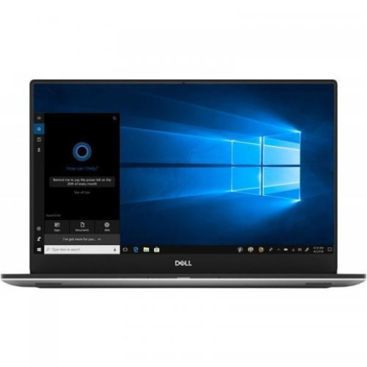 Ultrabook DELL XPS 15 (7590), Intel Core i7-9750H, 15.6inch, RAM 8GB, SSD 512GB, nVidia GeForce GTX 1650 4GB, Windows 10 Pro, Silver