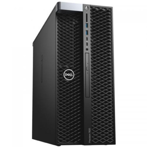 Workstation Dell Precision 5820 Tower, Intel Xeon W-2125, RAM 16GB, SSD 512GB, nVidia Quadro P4000 8GB, Linux