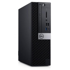 Desktop Dell Optiplex 7070 SFF, Intel Core i7-9700, RAM 16GB, SSD 512GB, Intel UHD Graphics 630, Windows 10 Pro