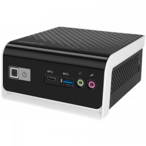 Gigabyte BRIX, Intel Celeron Quad Core J4105, No RAM, No HDD, Intel UHD Graphics 600, No OS