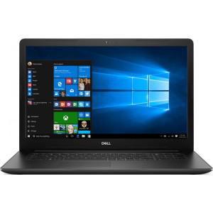 Laptop DELL 17.3'' Inspiron 3793 (seria 3000), FHD, Procesor Intel® Core™ i7-1065G7 (8M Cache, up to 3.90 GHz), 8GB DDR4, 512GB SSD, GeForce MX230 2GB, Win 10 Home, Black, 2Yr CIS