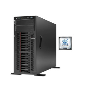 Server Lenovo Tower ST550 Xeon Silver 4210R (10C 2.4GHz 13.75MB Cache/100W) 16GB 2933MHz (1x16GB, 2Rx8 RDIMM), O/B, 930-8i 2GB Flash PCIe 12Gb Adapter(max 8 drives) 0/1/10/5/50/6/60, 1x750W, XCC Standard ,No DVD, 9x5 NBD, 3 ani