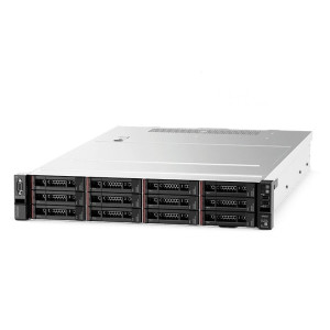"Server Lenovo Rack Server SR550, Intel Xeon Silver 4210 10C 2.2GHz 85W, 1x16GB 2Rx8, No Backplane (3.5""),SW RD, 1x750W,  2 x 1 GB RJ45, 1 port managenemt, XCC Enterprise, ThinkSystem Toolless Slide Rail, 9x5 NBD, 3 ani"