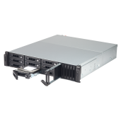 QNAP NAS 2U, TVS-1582TU-i7-32G, 15-Bay TurboNAS, Intel® Core™ i7-7700 3.6 GHz, 32GB RAM, 4-LAN, 2x SFP+ 10GbE, Redundant Power Supply, without Rail Kit