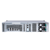 QNAP NAS 2U, TS-873U-RP-8G, 8-bay rackmount NAS, AMD RX-421ND 2.1GHz, up to 3.4GHz, 8GB DDR4 RAM, 4 x GbE LAN, 2 x 10GbE SFP+, Redundant Power Supply
