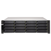 NAS 3U, TDS-16489U-SE2-R2,  16 (+4)-Bay TurboNAS, Xeon E5-2620 v4 2.1GHz, 128GB  RAM, 4-LAN, 10G-ready, redundant power supply, Without Rail Kit