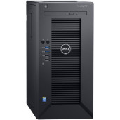 Server Tower DellEMC PowerEdge T30, Intel Xeon E3-1225V5,3.3GHz,8GB UDIMM, 1TB SATA